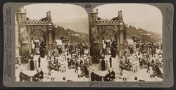 Before Christ Church, at Simla, India's charming 'Summer Capital' in the Himalayan Mountains